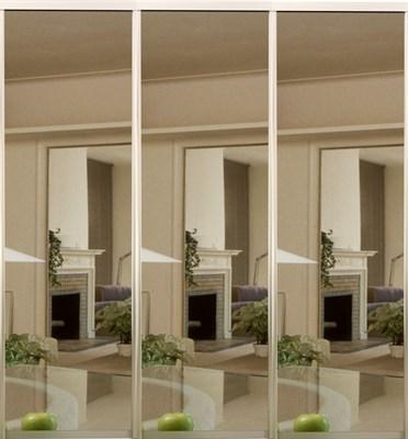 Зеркальные двери-купе для шкафа-купе Дк 18 - фото 4628