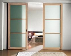 Двери-купе для шкафа-купе на заказ - фото 4761
