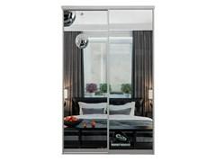 Зеркальные двери-купе для шкафа-купе