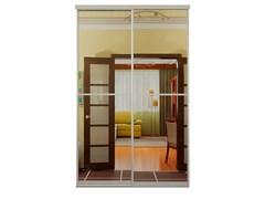 Зеркальные двери-купе для шкафа-купе Дк 2