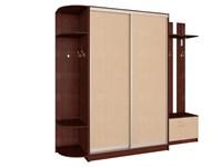 Шкаф-купе 2-х дверный для прихожей шк 24